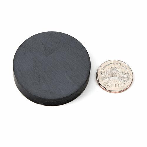 แม่เหล็กเฟอร์ไรท์ Ferrite ขนาด 50mm x 10mm แม่เหล็กถาวรเฟอร์ไรท์ (แม่เหล็กดำ) Ferrite
