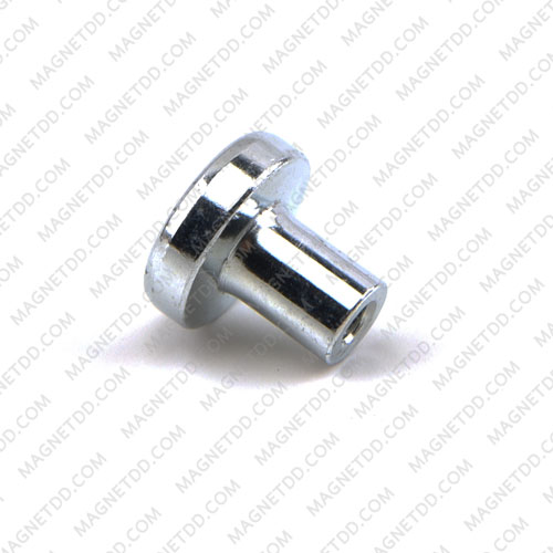 Mounting Magnet ฐานสูง ขนาด 12.75mm เกลียว 3mm แม่เหล็กถาวรนีโอไดเมี่ยม NdFeB (Neodymium)