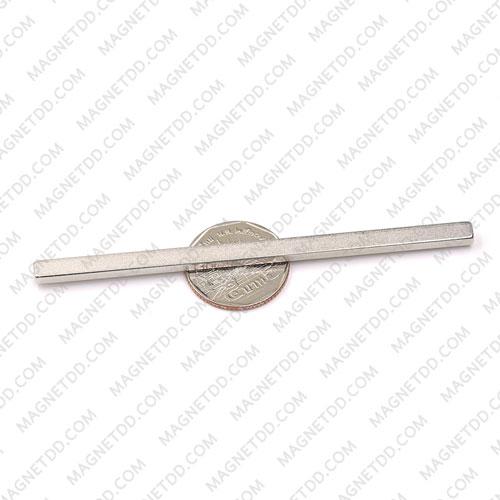 แม่เหล็กแรงสูง Neodymium ขนาด 100mm x 5mm x 3mm แม่เหล็กถาวรนีโอไดเมี่ยม NdFeB (Neodymium)