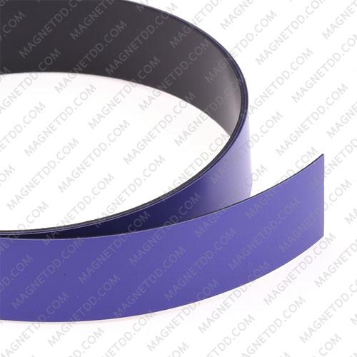 แม่เหล็กยาง เคลือบ PVC ขนาด 20mm x 0.5mm ยาว 1เมตร – สีม่วง แม่เหล็กถาวรยาง Flexible Rubber Magnets