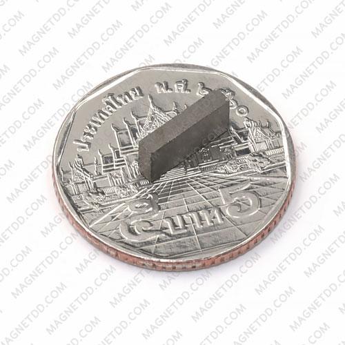 แม่เหล็กแรงสูงทนความร้อน Samarium Se ขนาด 10mm x 5mm x 2mm แม่เหล็กแรงสูง ทนความร้อน Samarium Cobalt 350C