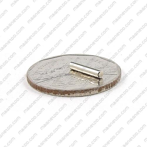 แม่เหล็กแรงสูง Neodymium ขนาด 2mm x 10mm แม่เหล็กถาวรนีโอไดเมี่ยม NdFeB (Neodymium)