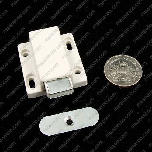 ชุดสลักสัมผัสแม่เหล็ก Meitian 2จังหวะสีขาว 38.5x36.5x15.5mm