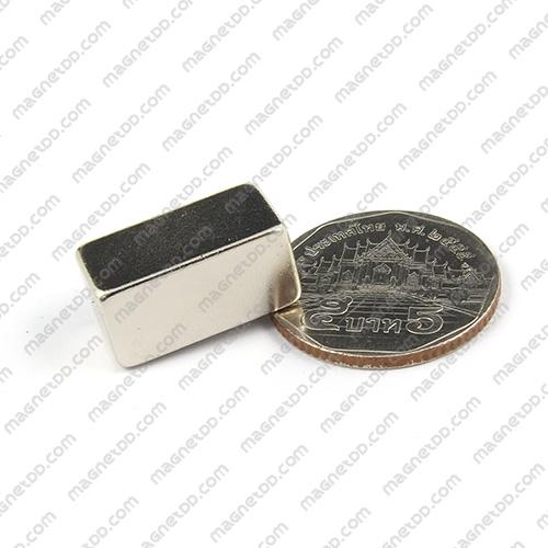แม่เหล็กแรงสูง Neodymium ขนาด 20mm x 10mm x 10mm แม่เหล็กถาวรนีโอไดเมี่ยม NdFeB (Neodymium)