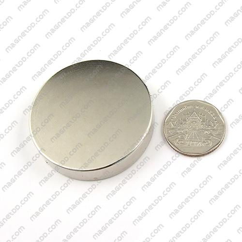 แม่เหล็กแรงสูง Neodymium ขนาด 48mm x 10mm แม่เหล็กถาวรนีโอไดเมี่ยม NdFeB (Neodymium)