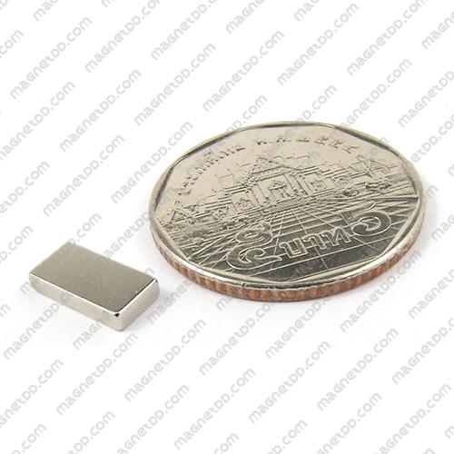 แม่เหล็กแรงสูง Neodymium ขนาด 10mm x 5mm x 1.75mm แม่เหล็กถาวรนีโอไดเมี่ยม NdFeB (Neodymium)