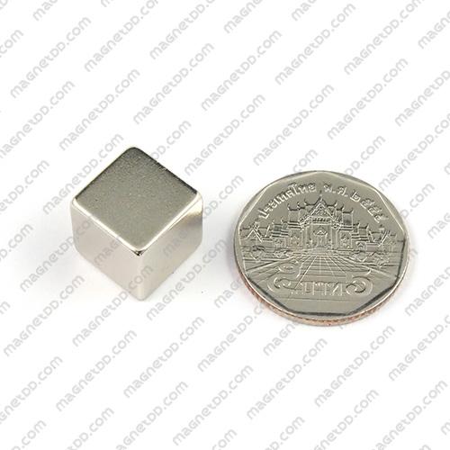 แม่เหล็กแรงสูง Neodymium ขนาด 12.7mm x 12.7mm x 12.7mm แม่เหล็กถาวรนีโอไดเมี่ยม NdFeB (Neodymium)