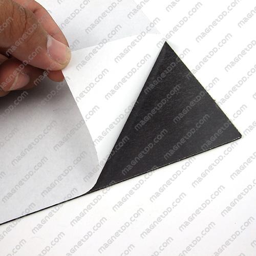 แม่เหล็กยางสติกเกอร์ A4 ขนาด 297mm x 210mm x 1.5mm แม่เหล็กถาวรยาง Flexible Rubber Magnets