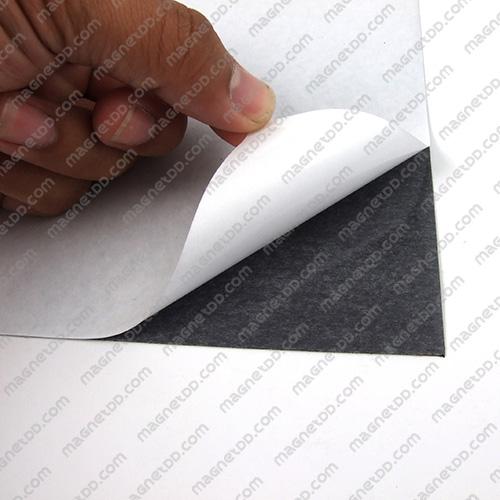 แม่เหล็กยางสติกเกอร์ A4 ขนาด 297mm x 210mm x 0.5mm แม่เหล็กถาวรยาง Flexible Rubber Magnets