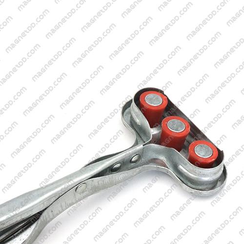 อุปกรณ์จับยกหัวแม่เหล็ก แบบ 3หัว Magnetic Punch Protector แม่เหล็กถาวรนีโอไดเมี่ยม NdFeB (Neodymium)