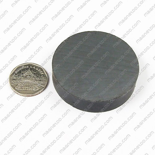 แม่เหล็กเฟอร์ไรท์ Ferrite ขนาด 52mm x 12mm แม่เหล็กถาวรเฟอร์ไรท์ (แม่เหล็กดำ) Ferrite