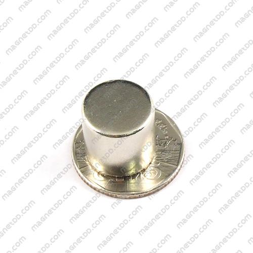 แม่เหล็กแรงสูง Neodymium ขนาด 15mm x 14.75mm แม่เหล็กถาวรนีโอไดเมี่ยม NdFeB (Neodymium)
