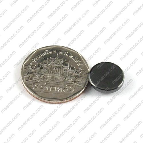 แม่เหล็ก Magnetic Hematite ขนาด 12mm x 4mm