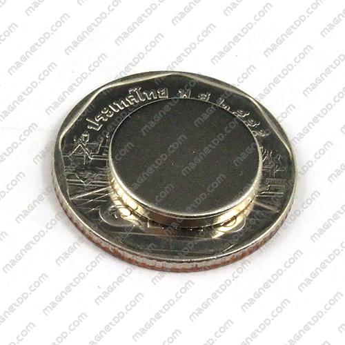 แม่เหล็กแรงสูง Neodymium ขนาด 15mm x 2mm แม่เหล็กถาวรนีโอไดเมี่ยม NdFeB (Neodymium)