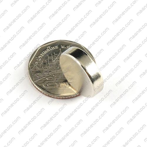 แม่เหล็กแรงสูง Neodymium ขนาด 18mm x 4.75mm แม่เหล็กถาวรนีโอไดเมี่ยม NdFeB (Neodymium)