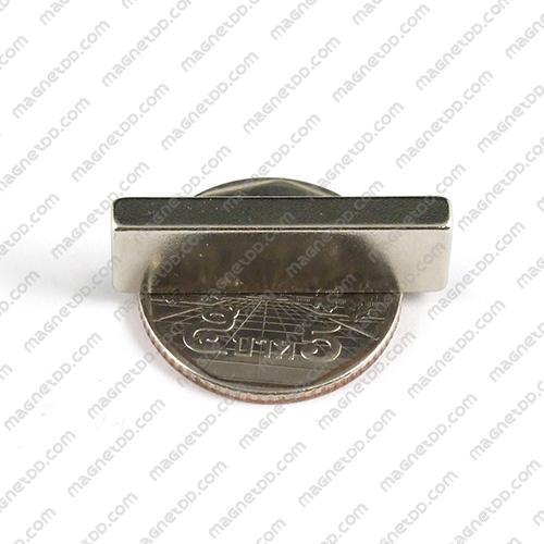 แม่เหล็กแรงสูง Neodymium ขนาด 30mm x 10mm x 3.75mm แม่เหล็กถาวรนีโอไดเมี่ยม NdFeB (Neodymium)