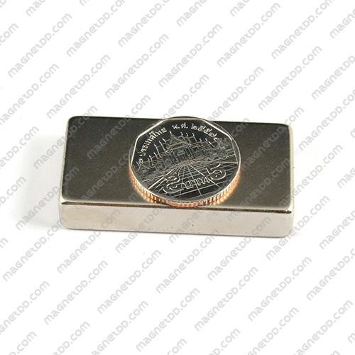 แม่เหล็กแรงสูง Neodymium ขนาด 50mm x 25mm x 10mm แม่เหล็กถาวรนีโอไดเมี่ยม NdFeB (Neodymium)