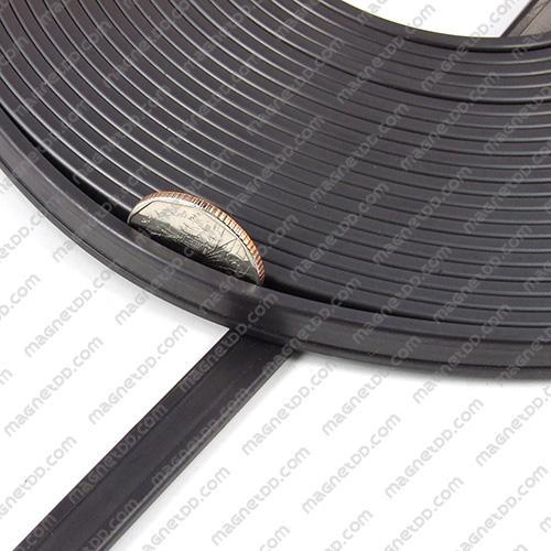 แม่เหล็กยาง ขนาด 10mm x 3mm ยาว 10เมตร - ยกม้วน แม่เหล็กถาวรยาง Flexible Rubber Magnets