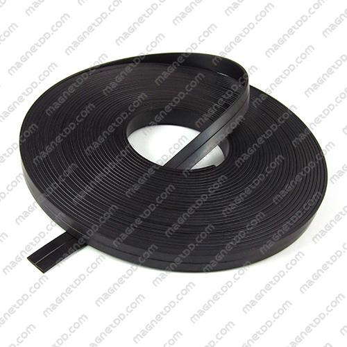 แม่เหล็กยาง ขนาด 12mm x 2mm ยาว 10เมตร - ยกม้วน แม่เหล็กถาวรยาง Flexible Rubber Magnets
