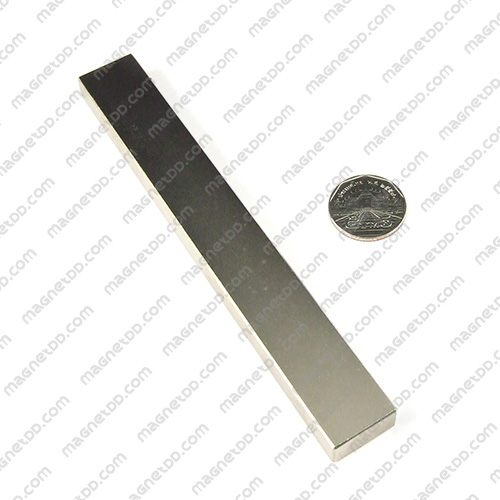 แม่เหล็กแรงสูง Neodymium ขนาด 150mm x 20mm x 10mm แม่เหล็กถาวรนีโอไดเมี่ยม NdFeB (Neodymium)