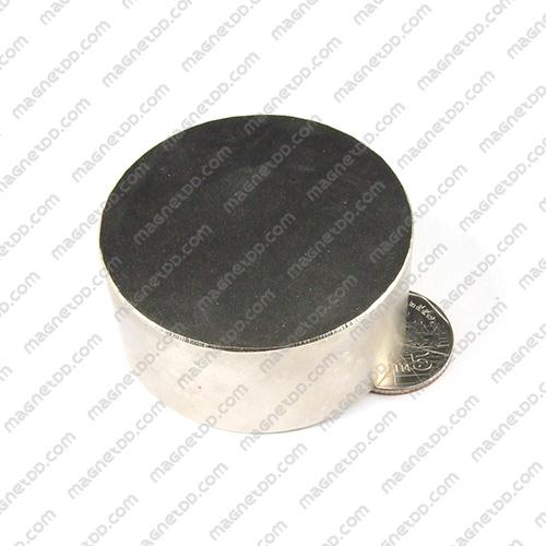 แม่เหล็กแรงสูง Neodymium ขนาด 55mm x 25mm แม่เหล็กถาวรนีโอไดเมี่ยม NdFeB (Neodymium)