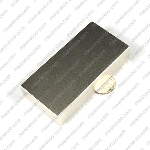 แม่เหล็กแรงสูง Neodymium ขนาด 100mm x 50mm x 20mm แม่เหล็กถาวรนีโอไดเมี่ยม NdFeB (Neodymium)