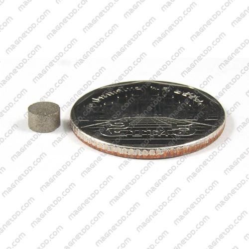 แม่เหล็กแรงสูงทนความร้อน Samarium ขนาด 5mm x 3mm แม่เหล็กแรงสูง ทนความร้อน Samarium Cobalt 350C