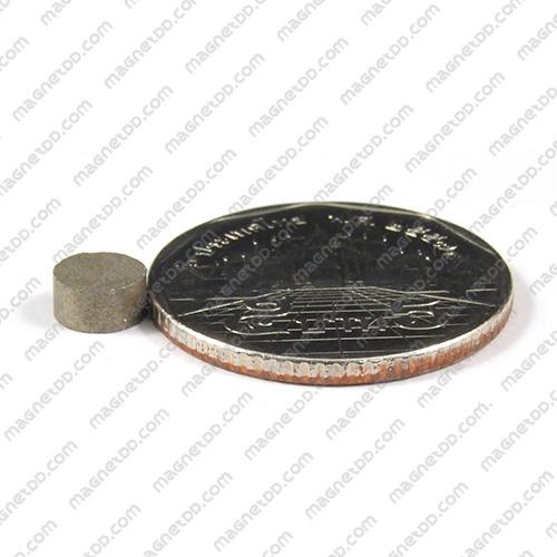 แม่เหล็กแรงสูงทนความร้อน Samarium ขนาด 6mm x 3mm แม่เหล็กแรงสูง ทนความร้อน Samarium Cobalt 350C