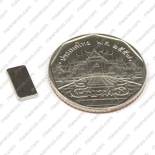 แม่เหล็กแรงสูง Neodymium ขนาด 10mm x 5mm x 1mm แม่เหล็กถาวรนีโอไดเมี่ยม NdFeB (Neodymium)