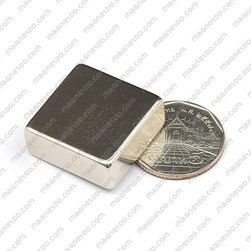 แม่เหล็กแรงสูง Neodymium ขนาด 25mm x 25mm x 10mm แม่เหล็กถาวรนีโอไดเมี่ยม NdFeB (Neodymium)