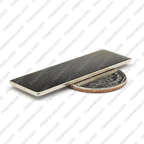 แม่เหล็กแรงสูง Neodymium ขนาด 50mm x 16mm x 1.55mm แม่เหล็กถาวรนีโอไดเมี่ยม NdFeB (Neodymium)