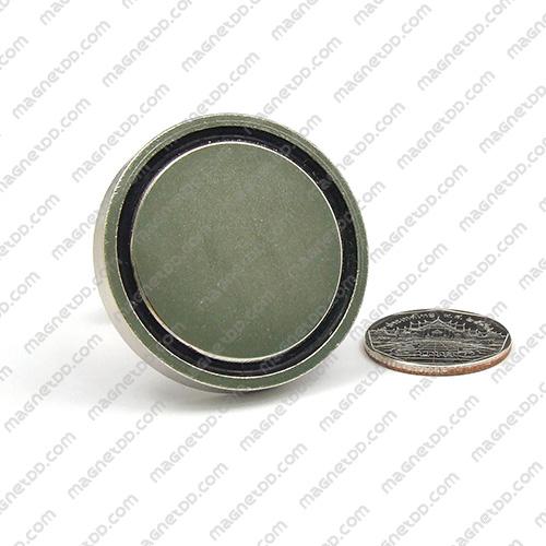 ชุดตะขอแม่เหล็กสูง Neodymium ขนาด 42mm แม่เหล็กถาวรนีโอไดเมี่ยม NdFeB (Neodymium)