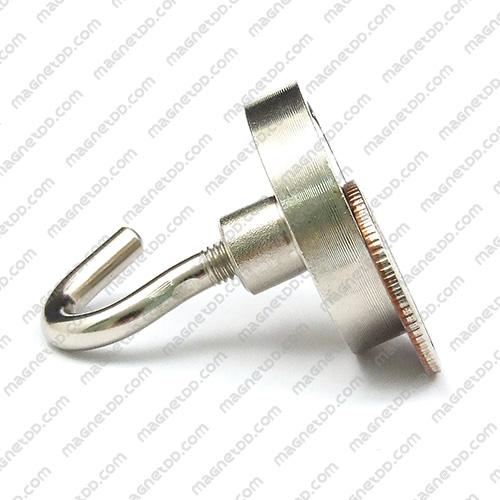 ชุดตะขอแม่เหล็กสูง Neodymium ขนาด 32mm แม่เหล็กถาวรนีโอไดเมี่ยม NdFeB (Neodymium)