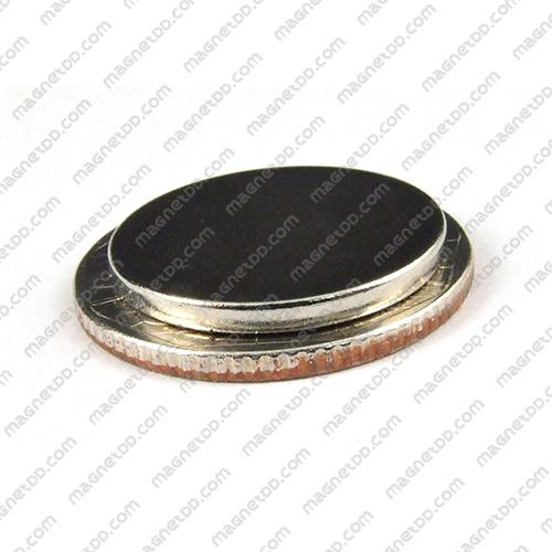แม่เหล็กแรงสูง Neodymium ขนาด 20mm x 2mm แม่เหล็กถาวรนีโอไดเมี่ยม NdFeB (Neodymium)