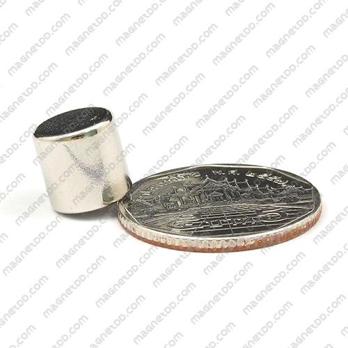 แม่เหล็กแรงสูง Neodymium ขนาด 10mm x 10mm แม่เหล็กถาวรนีโอไดเมี่ยม NdFeB (Neodymium)