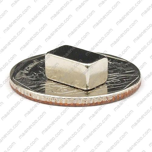 แม่เหล็กแรงสูง Neodymium ขนาด 10mm x 6mm x 5mm แม่เหล็กถาวรนีโอไดเมี่ยม NdFeB (Neodymium)