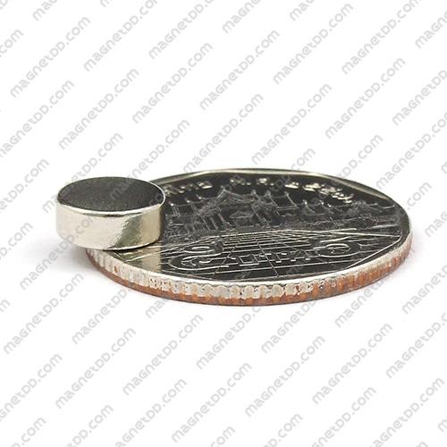 แม่เหล็กแรงสูง Neodymium ขนาด 8mm x 3mm แม่เหล็กถาวรนีโอไดเมี่ยม NdFeB (Neodymium)