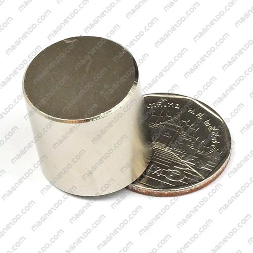 แม่เหล็กแรงสูง Neodymium ขนาด 20mm x 20mm แม่เหล็กถาวรนีโอไดเมี่ยม NdFeB (Neodymium)