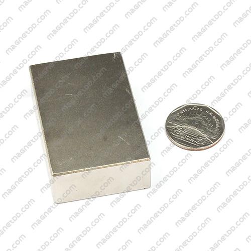แม่เหล็กแรงสูง Neodymium ขนาด 58mm x 38mm x 18mm แม่เหล็กถาวรนีโอไดเมี่ยม NdFeB (Neodymium)