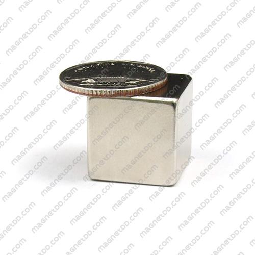 แม่เหล็กแรงสูง Neodymium ขนาด 20mm x 20mm x 20mm แม่เหล็กถาวรนีโอไดเมี่ยม NdFeB (Neodymium)