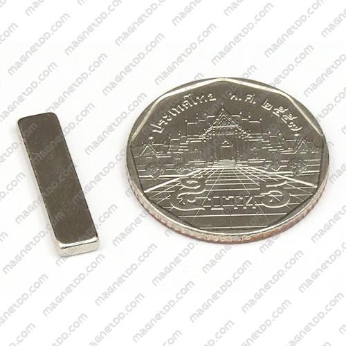แม่เหล็กแรงสูง Neodymium ขนาด 20mm x 5mm x 2mm แม่เหล็กถาวรนีโอไดเมี่ยม NdFeB (Neodymium)