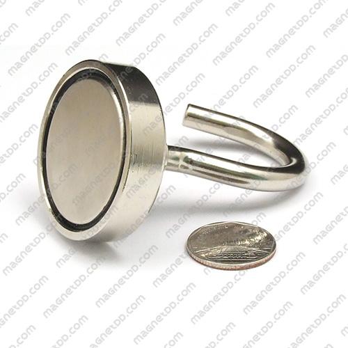 ชุดตะขอแม่เหล็กสูง Neodymium ขนาด 48mm แม่เหล็กถาวรนีโอไดเมี่ยม NdFeB (Neodymium)