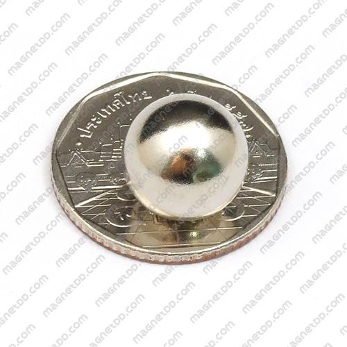 แม่เหล็กแรงสูงทรงกลม Neodymium Ball ขนาด 12.7mm แม่เหล็กถาวรนีโอไดเมี่ยม NdFeB (Neodymium)