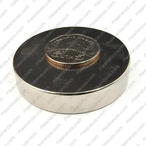 แม่เหล็กแรงสูง Neodymium ขนาด 50mm x 10mm แม่เหล็กถาวรนีโอไดเมี่ยม NdFeB (Neodymium)