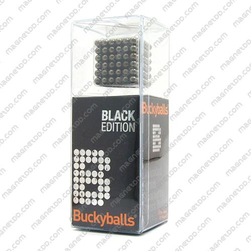แม่เหล็กแรงสูง Bucky Ball ขนาด 5mm. ชุด 216 ชิ้น - สีเงินดำ แม่เหล็กถาวรนีโอไดเมี่ยม NdFeB (Neodymium)