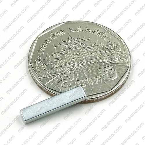 แม่เหล็กแรงสูง Neodymium ขนาด 15mm x 3mm x 2mm แม่เหล็กถาวรนีโอไดเมี่ยม NdFeB (Neodymium)