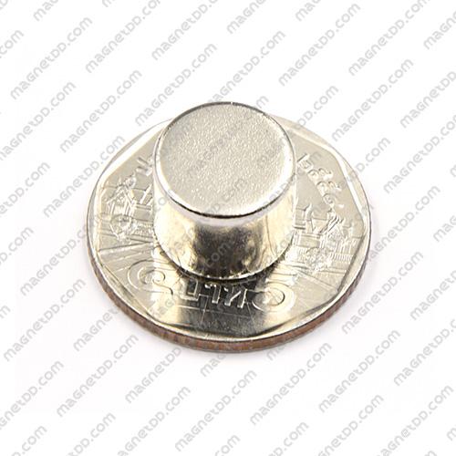 แม่เหล็กแรงสูง Neodymium ขนาด 12mm x 10mm แม่เหล็กถาวรนีโอไดเมี่ยม NdFeB (Neodymium)