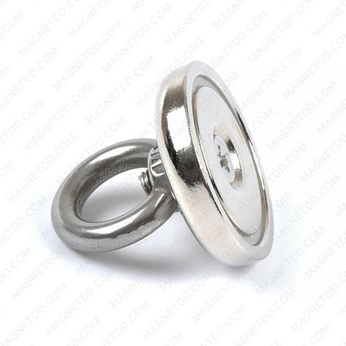 Mounting Magnet ขนาด 32mm พร้อมห่วง แม่เหล็กถาวรนีโอไดเมี่ยม NdFeB (Neodymium)