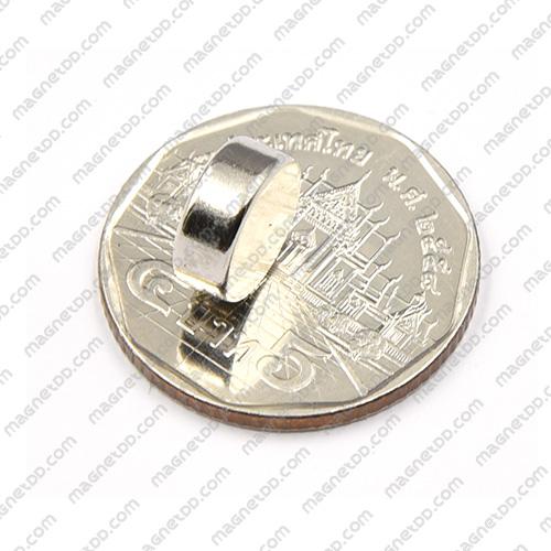 แม่เหล็กแรงสูง Neodymium ขนาด 10mm x 4mm แม่เหล็กถาวรนีโอไดเมี่ยม NdFeB (Neodymium)