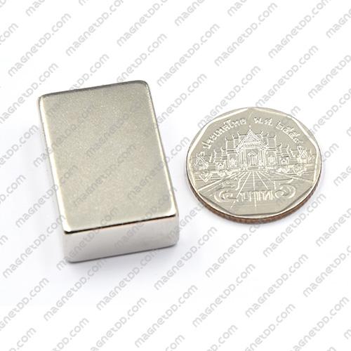 แม่เหล็กแรงสูง Neodymium ขนาด 30mm x 20mm x 10mm แม่เหล็กถาวรนีโอไดเมี่ยม NdFeB (Neodymium)